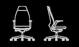 Sillas de trabajo y oficina 4U