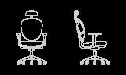 Silla de oficina y trabajo Evolution