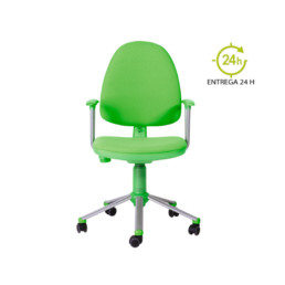 Silla de escritorio juvenil Flax Verde Pistacho