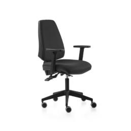Silla de escritorio Adapta Respaldo Negro